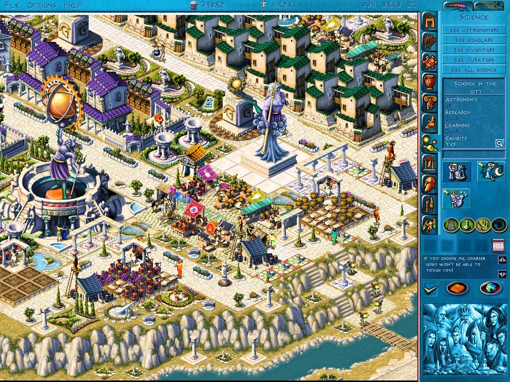 free zeus master of olympus download full game