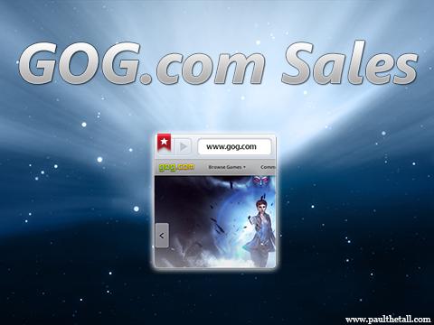 gog sales new