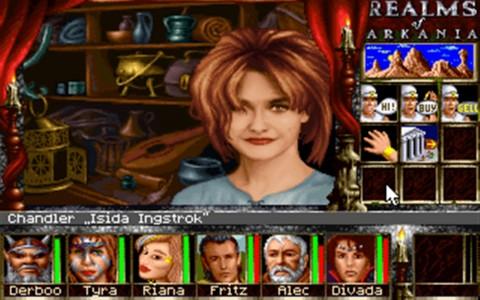 screenshot arkania 4
