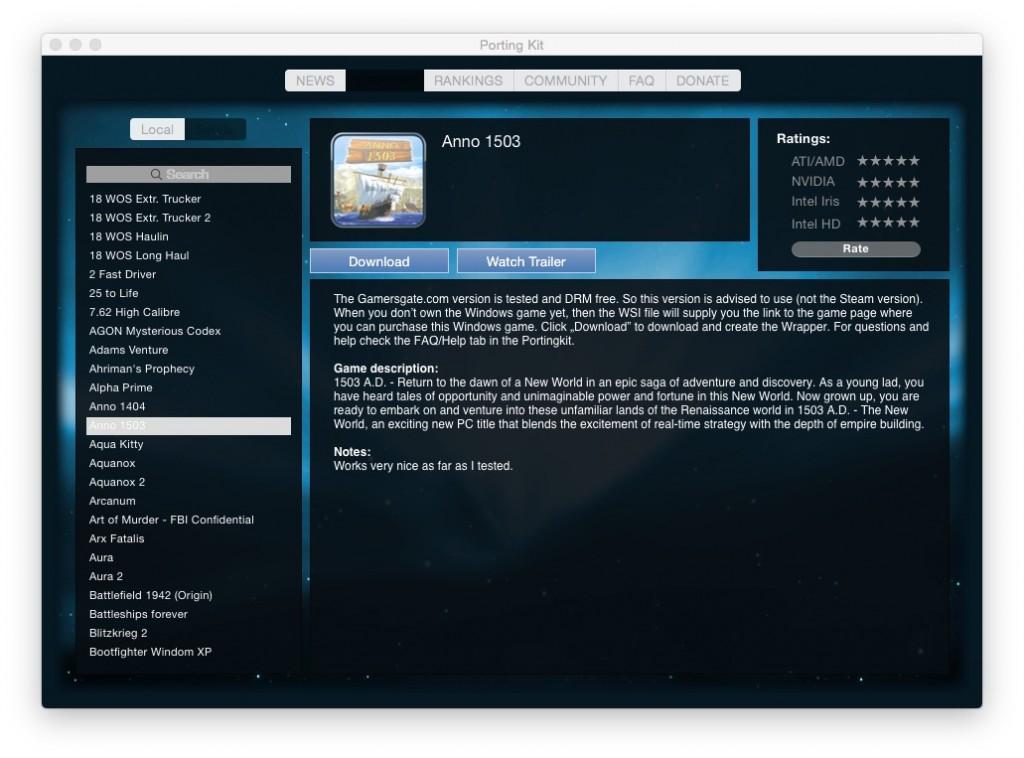Portingkit new GUI