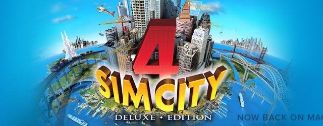 SimCity 4 Deluxe for Mac OS Catalina and up (and below).