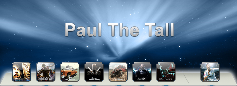 Paul the Tall intro banner