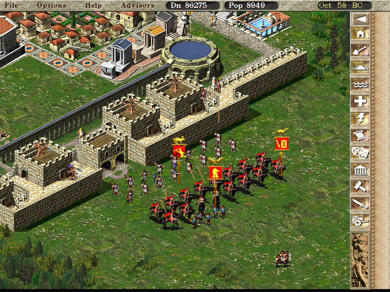Caesar 3 (1998) pc review and full download | old pc gaming.