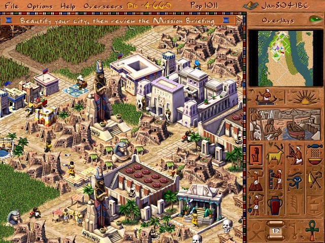 pharaoh pc game download mac