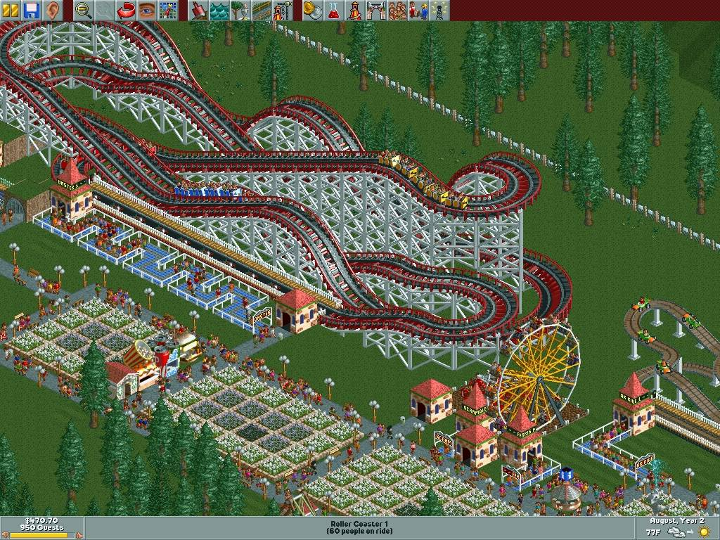 rollercoaster tycoon for mac osx