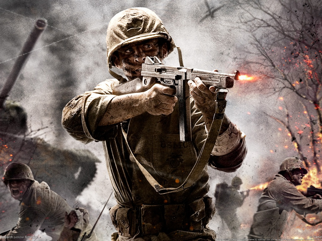 Call of Duty 5: World at War OSX - PaulTheTall PaulTheTall