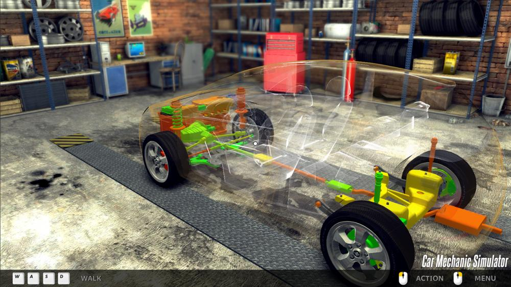 Car Mechanic simulator 2014 screenshot 2 - PaulTheTall ...