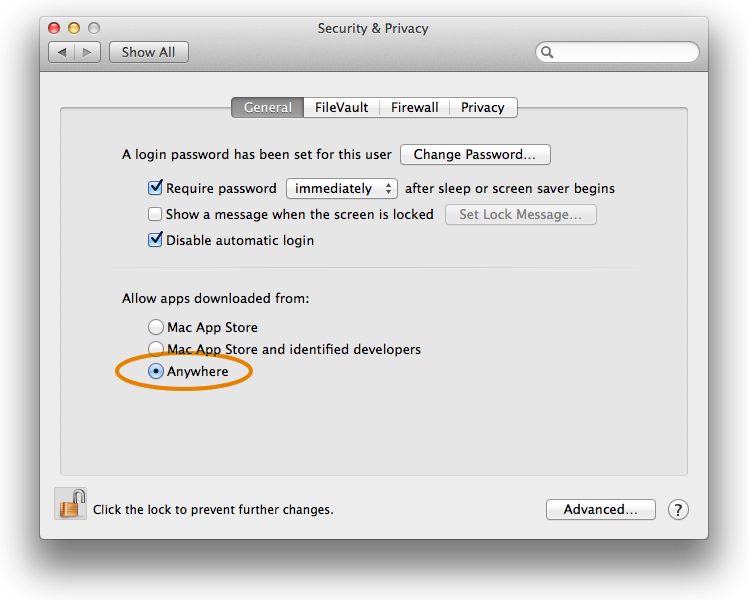 mavericks-security-settings