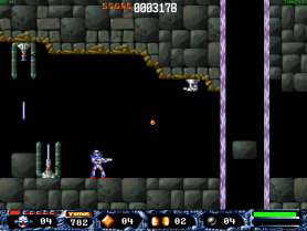 turrican remake mac screenshot 1