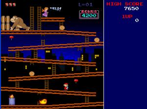 donkey Kong Mac screenshot 1