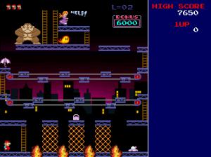 donkey Kong Mac screenshot 3