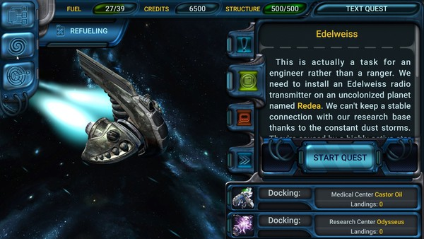 Space Rangers Quest for Mac and Linux