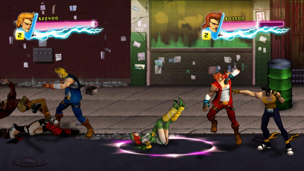 Double Dragon Neon for Mac and Linux