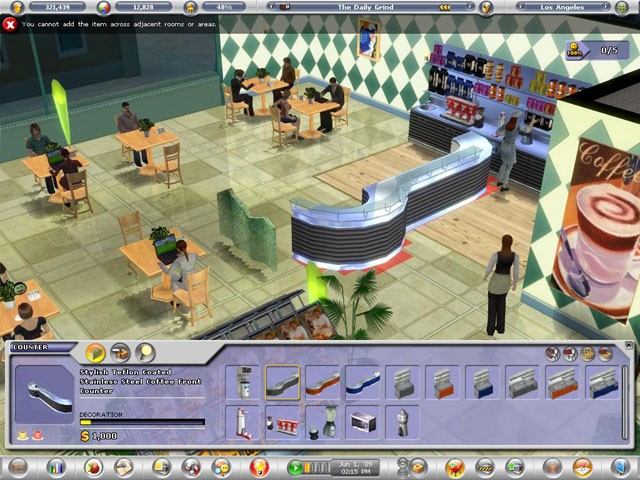 Restaurant Empire for Mac and Linux