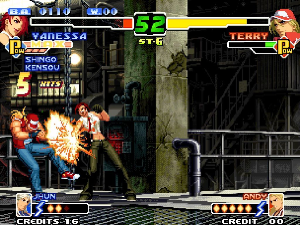 The King of Fighters 2000 and 2002 for Mac