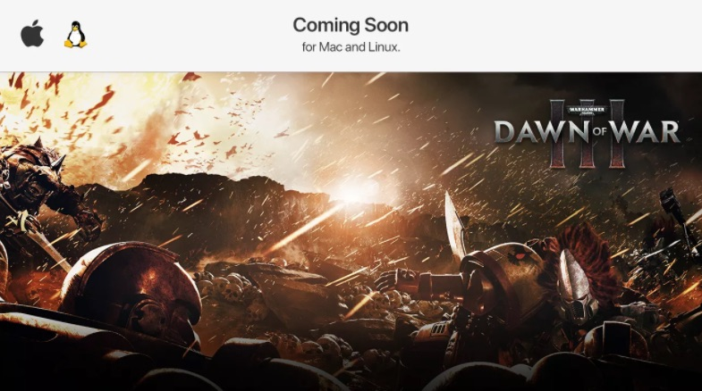 Warhammer - Dawn of War 3 coming to Mac and Linux