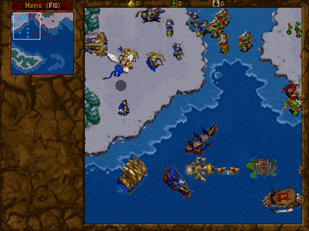 Warcraft II for Mac
